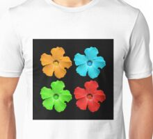 Primary Flowers  Unisex T-Shirt