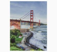 Overlooking the Golden Gate by misterken