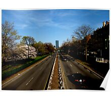 Storrow Drive Near Rush Hour Poster
