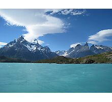 Torres del Paine - Crossing Lago Peohe.  Photographic Print
