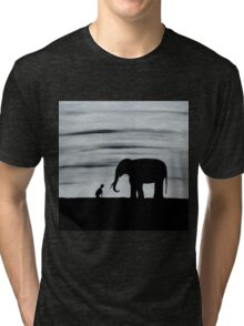 Must Love Elephants Tri-blend T-Shirt