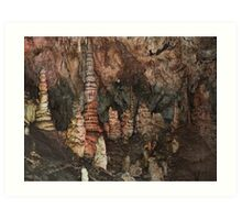 Inside Lewis and Clark Caverns-Whitehall, Montana Art Print