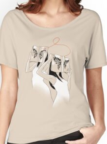 The Butterfly Identity Tshirt Women's Relaxed Fit T-Shirt