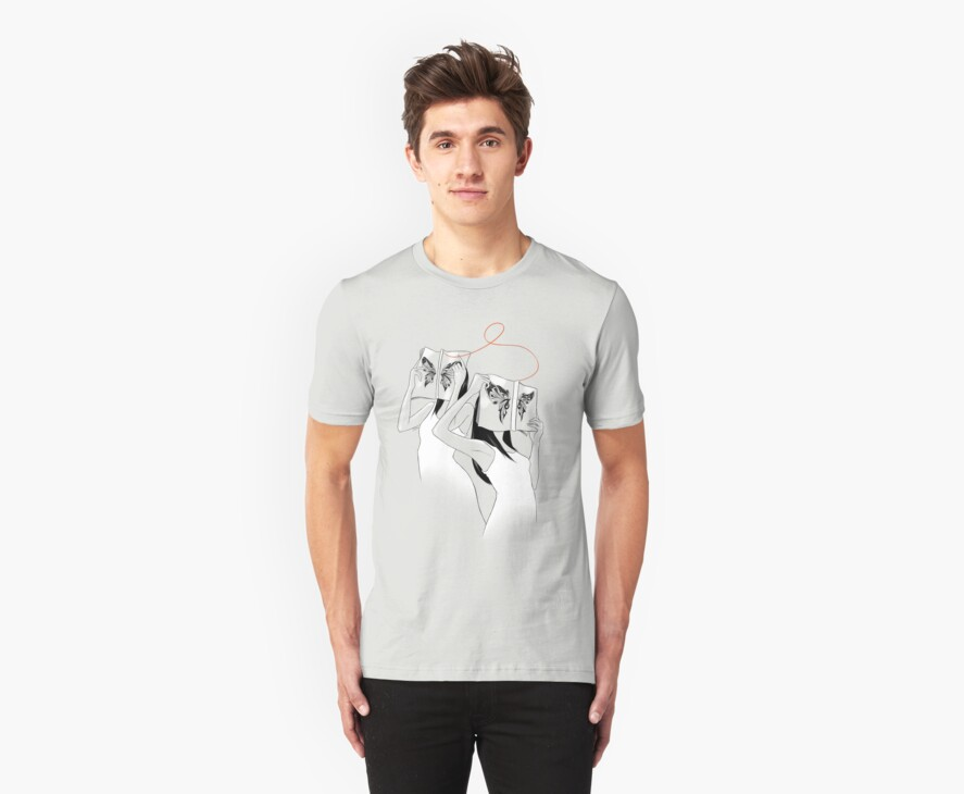 The Butterfly Identity Tshirt by Eevien Tan