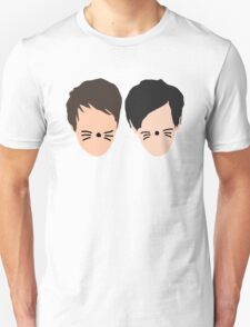 Phil Lester and Dan Howell (without text) T-Shirt