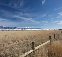 Fields - Way to Yellowstone by Adam Smith