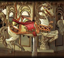 Painted Carousel by Kristine McKay Kinder