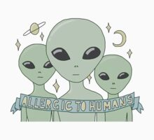 Allergic To Humans T-Shirt by shoptumblr