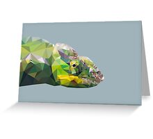 LP Chameleon Greeting Card