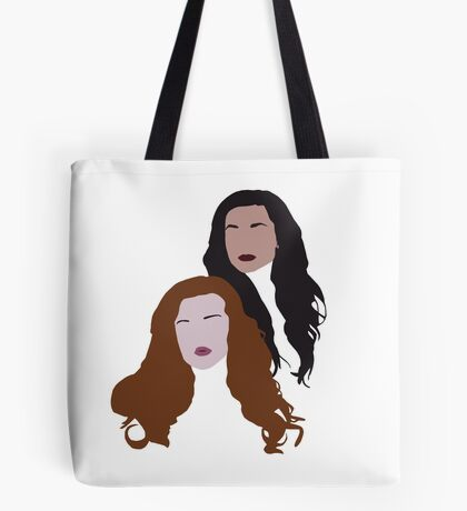 Allison and Lydia Tote Bag