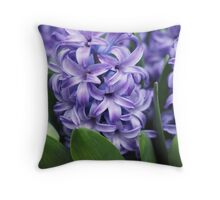 Hyacinth Food of Thy Soul Throw Pillow