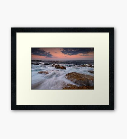 Ocean Tranquility Framed Print