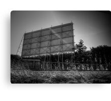 At The Drive-In Canvas Print