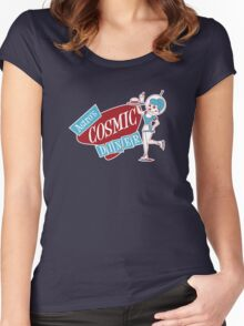 Astro's Cosmic Diner Women's Fitted Scoop T-Shirt