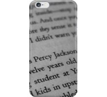 My name is Percy Jackson. iPhone Case/Skin