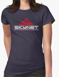 Skynet - Neural Net-Based Artificial Intelligence Womens Fitted T-Shirt