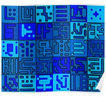 konstruct-blu Poster