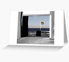 The Ocean Baths Newcastle Greeting Card