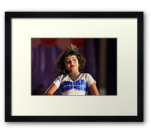 A little dancer. Framed Print