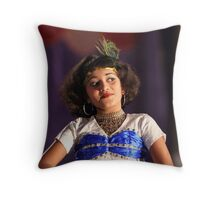 A little dancer. Throw Pillow