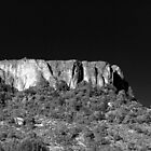 Table Rock, Oregon B/W by Greg Badger