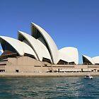 Sydney Opera House, Sydney Australia by Adrienne Bartl