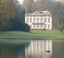 Villa in Park Schonbusch, Aschaffenburg Germany by Adrienne Bartl