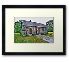 Kruza House Framed Print