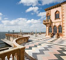 Ca d'Zan Mansion Ringling Museum Sarasota by Mal Bray