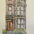 'The Inn', 943 South Van Ness Ave., San Francisco. California. ©2010 by Elizabeth Moore Golding