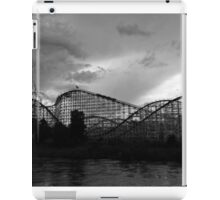 Roller coaster in Denver iPad Case/Skin