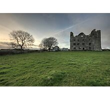 Lemenagh Castle Photographic Print