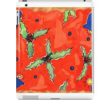 Holly and Bells iPad Case/Skin