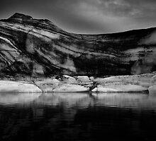 Sounds of Silence #7 - Glacier  (Jökulsárlón) Lagoon Iceland  by angelena rebori