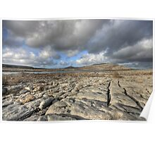 Beautiful Burren Poster
