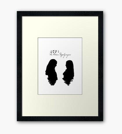 Kelena (with text) Framed Print