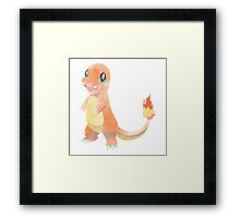 POKEMON : CHARMANDER Framed Print