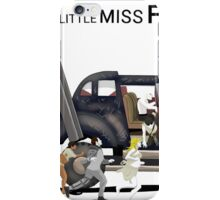 little miss furry road iPhone Case/Skin