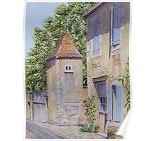 Pigeonnier, Montbron, France Poster