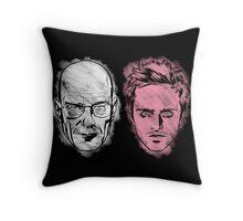WHITEMAN & PINKMAN Throw Pillow