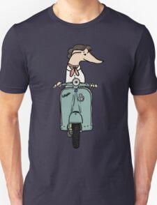 Italian Greyhound on Roman Holiday Unisex T-Shirt