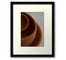 Pottery 3 Framed Print