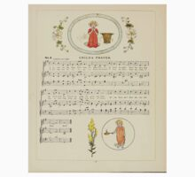 A Day in a Child's Life Myles Birket Foster and Kate Greenaway 1881 0028 Child's Prayer One Piece - Short Sleeve