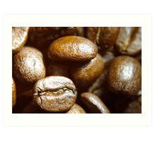 Beans, up close Art Print