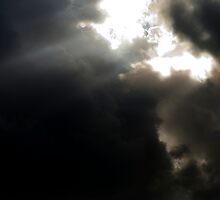 Clouds and the shining light by Ian Moses