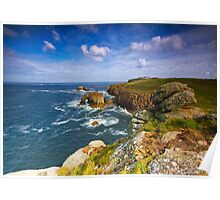 Lands End - Cornwall Poster