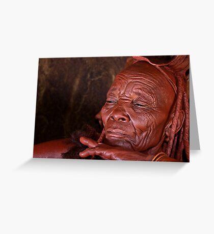 Himba Elder Greeting Card