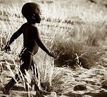 Himba Child by Olwen Evans