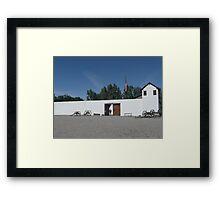 Fort Hall Replica. Framed Print