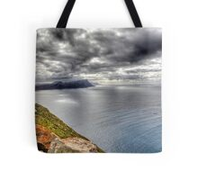 It was a dark and stormy day... Tote Bag